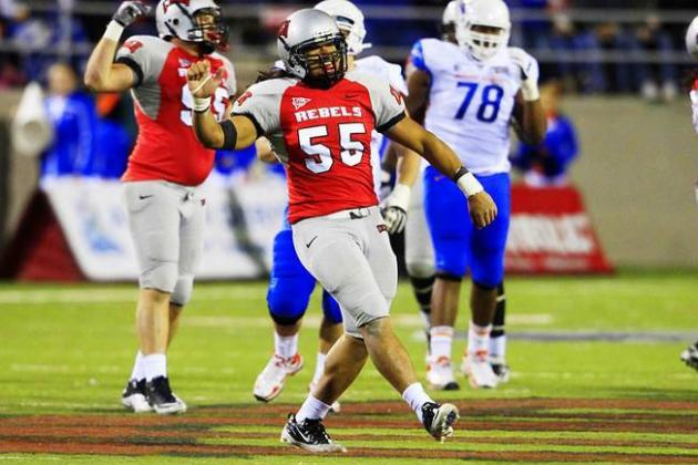 John Lotulelei Scouting Report: NFL Outlook for UNLV OLB