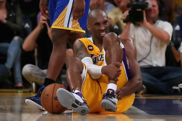 Los Angeles Lakers: Kobe Bryant Is Mortal After All