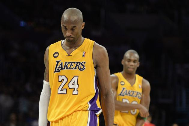 Kobe Bryant Will Be Out 6-9 Months with Ruptured Achilles Injury