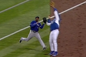 Royals Ball Boy Prevents Rajai Davis from Making Routine Catch