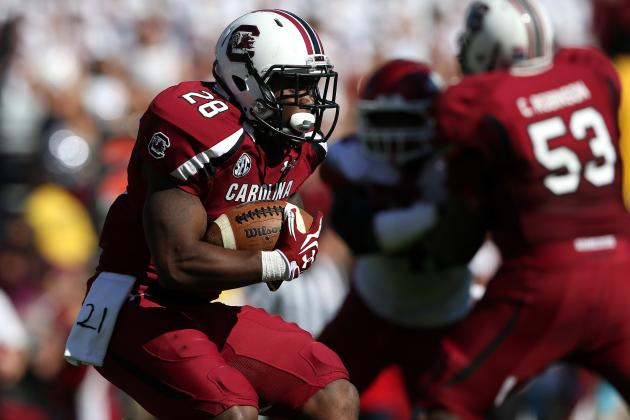 South Carolina Spring Game: Gamecock Running Game Will Be Fine Without Lattimore