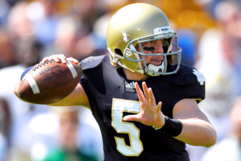 Will Notre Dame Transfer QB Gunner Kiel Thrive at Cincinnati?