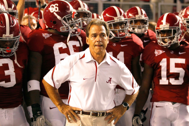 How Nick Saban Brought the Tide Back from the Dead