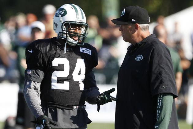 Thought of Losing Darrelle Revis Gives Rex Ryan a Splitting Headache