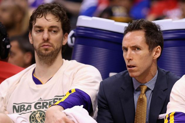 Steve Nash a game-time decision Sunday against San Antonio Spurs