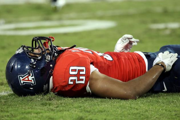 Arizona Wildcats Receiver Austin Hill Suffers Torn ACL