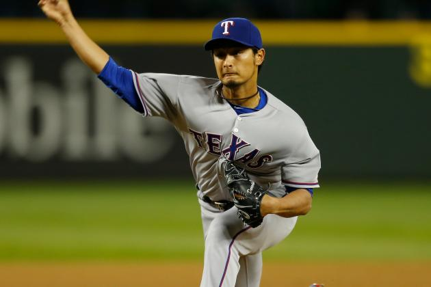 Rangers Pushing Yu Darvish Back in Rotation