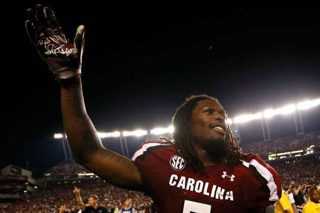 South Carolina Spring Game 2013: Gamecocks D Not All Jadeveon Clowney