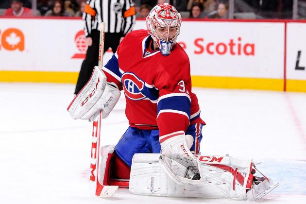 Carey Price Pulled in 1st Period vs. Leafs