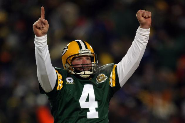 Favre Wants to Make a Green Bay Appearance 'One Day'