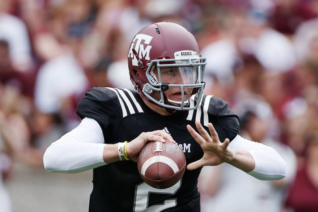 Texas A&M Spring Game Proves QB Johnny Manziel Won't Suffer Sophomore Slump