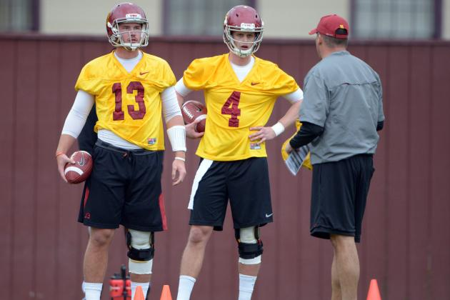USC QB Race Still Too Close to Call