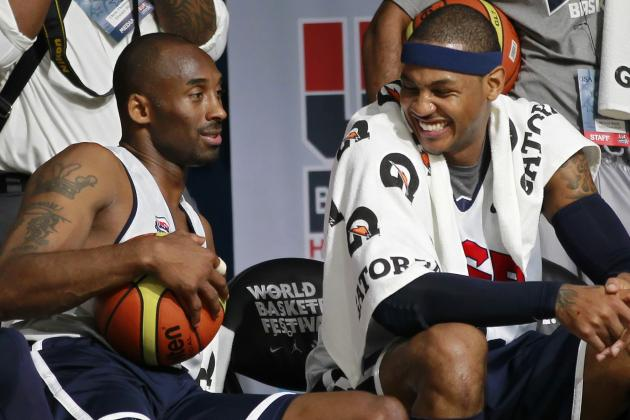 Melo's Message for Kobe