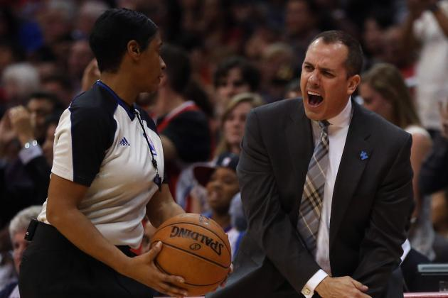 Pacers Head Coach Vogel Leads League in Technical Fouls