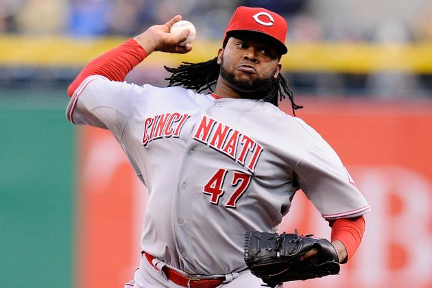 Johnny Cueto Leaves Game with Apparent Arm Injury