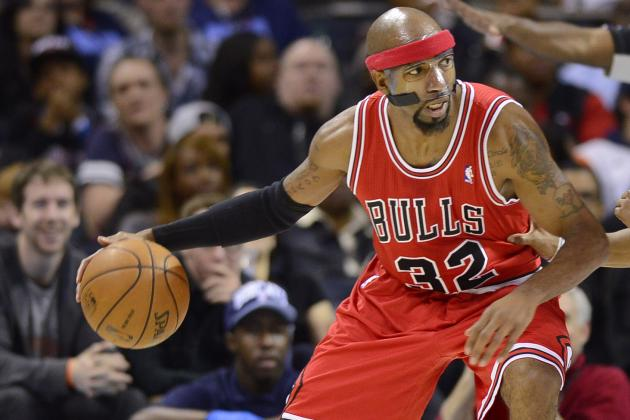 NBA Suspends Bulls' Richard Hamilton for Flagrant Elbow