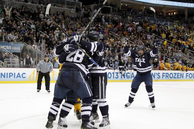 Frozen Four 2013: Top Performers from Epic NCAA Hockey Finale
