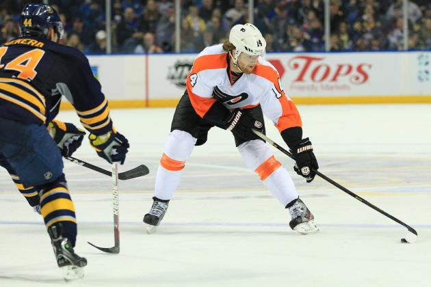 Tough Luck Dooms Slumping Flyers in Loss to Sabres