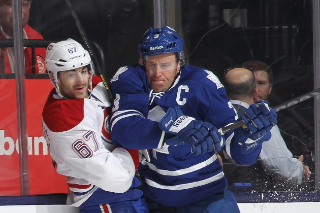 Maple Leafs 5, Canadiens 1