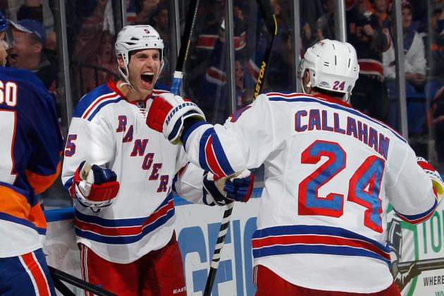 Girardi's Goal, Lundqvist's Saves Carry Rangers to 1-0 Win over Islanders