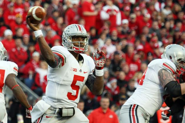 Ohio State Football Spring Game 2013: Braxton Miller Impresses with Arm