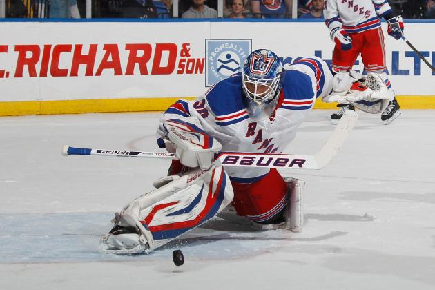 Girardi Scores in OT as Lundqvist Blanks Isles for Win