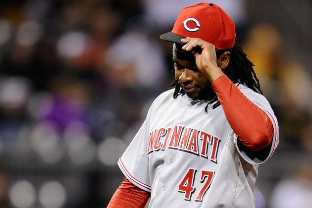 Reds Lost Game and Johnny Cueto