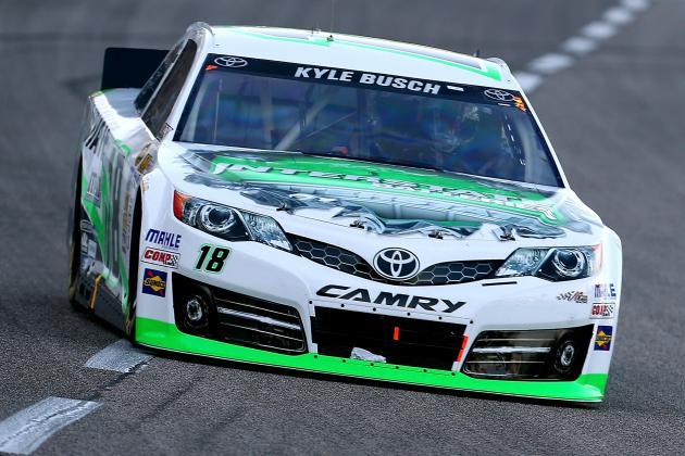 Kyle Busch Wins NRA 500