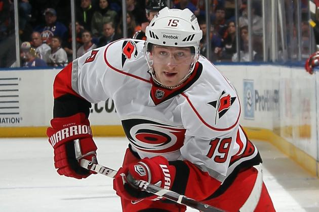 Tlusty Scores Twice as 'Canes Snap 7-Game Skid