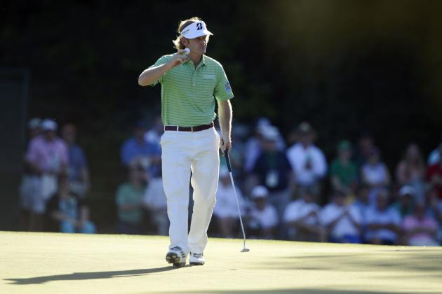 Masters Leaderboard 2013: Projecting Full Top 10 Following Today's Final Round