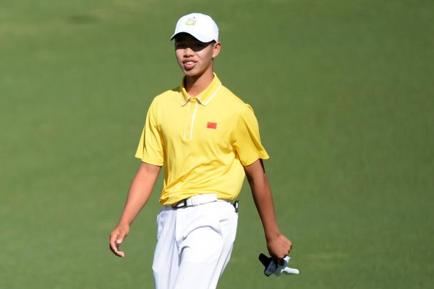 Masters Officials Reportedly Told Tianlang Guan to Quicken Pace on Saturday