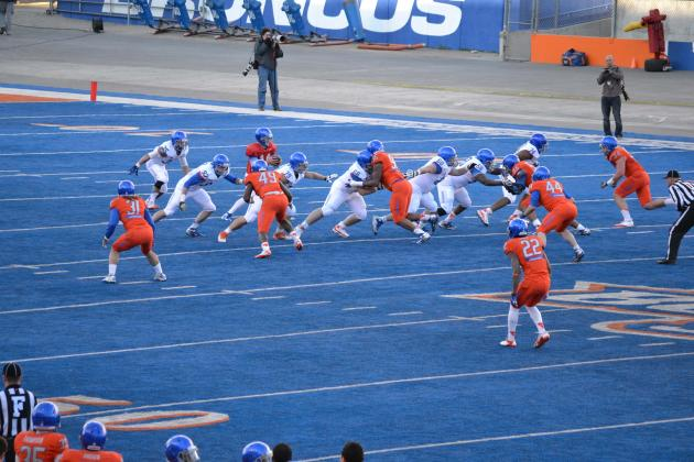 Boise State Football: Defense Surprisingly Dominant in 2013 Spring Game