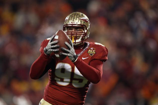 2013 Detroit Lions NFL Draft: Florida State's Bjoern Werner Is the Best DE at 5