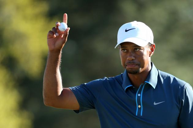 Tiger Woods' Resiliency Counters Unfortunate Penalty at 2013 Masters