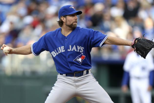 Toronto Blue Jays' R.A. Dickey Proves Why Fans Must Be Patient in April