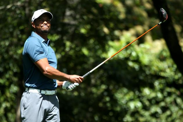 Masters 2013: Tiger Woods Still in Contention Despite Rules Violation