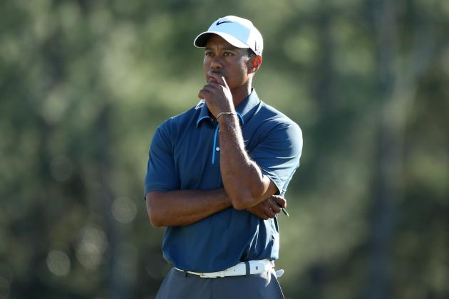 The Masters 2013: Tiger Woods and Biggest Threats to Leaders on Day 4