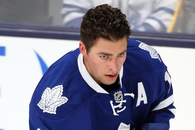Joffrey Lupul Cleared for Contact; Eyes Return from Concussion