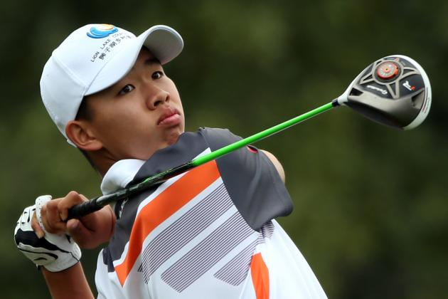 Tianlang Guan Wins Low Amateur Honors at 2013 Masters