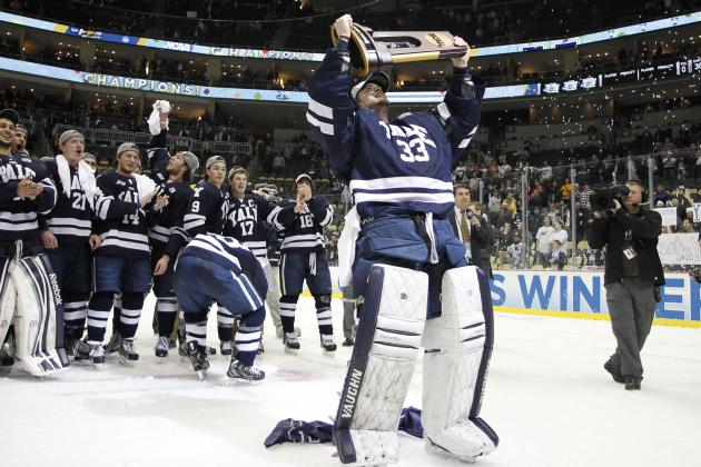 Frozen Four 2013: Key Performers in Yale's Improbable NCAA Championship