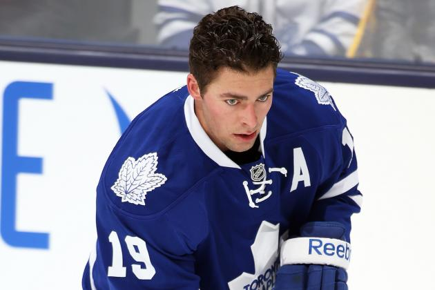 Leafs' Lupul Cleared for Contact; 'close' to Return