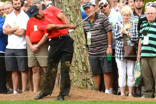 Tiger Woods at Masters 2013: Day 4 Score, Highlights and Updates