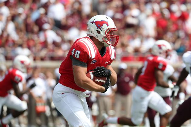 Zach Line Scouting Report: NFL Outlook for Southern Methodist FB