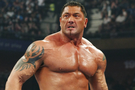 WWE's Batista Rumored to Return;  Part-Time Era Will Be Just Fine