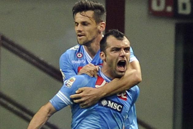Goran Pandev Draws Napoli Even