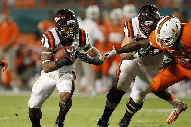 Short-Yardage Shortcomings Irk Hokies' Offensive Coaches