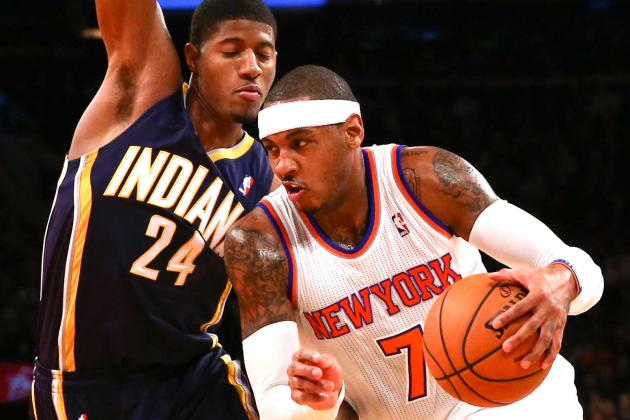 Indiana Pacers vs. New York Knicks: Live Score, Results and Game Results