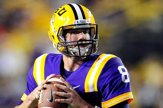 LSU's Zach Mettenberger Shines in Scrimmage vs. Undermanned Tiger Defense