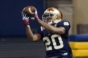 Notre Dame: Prosise Rises from Scout Squad to First-Team Slot Receiver