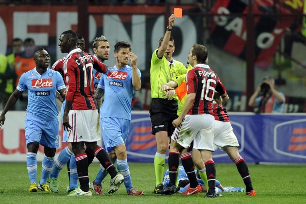 Milan vs. Napoli: Both Sides Still Way Behind Juventus